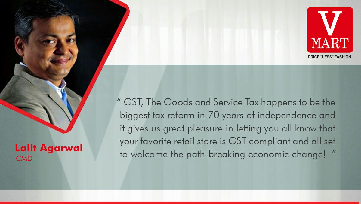 Welcome #GST