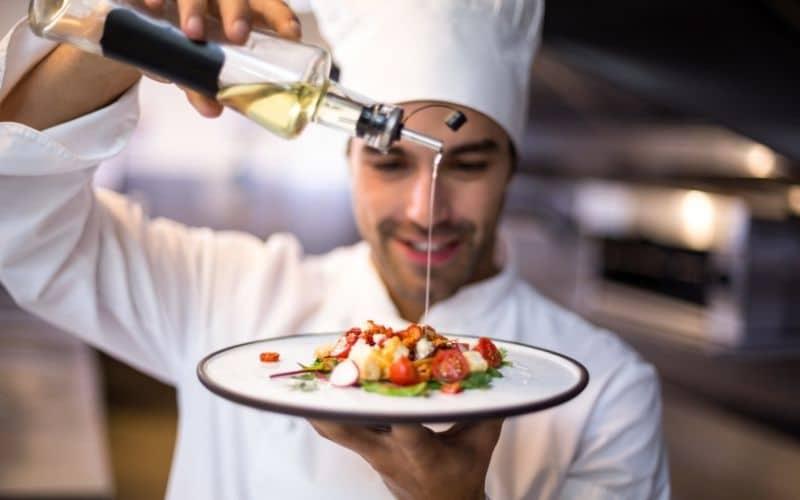 olive oil chef kitchen
