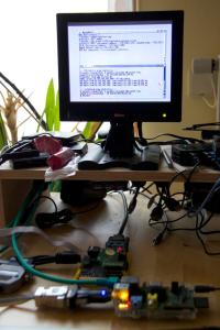 My comfy desktop with Minimig PPP setup
