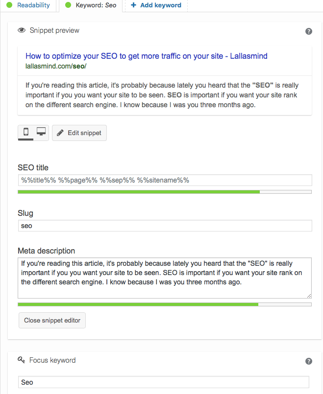 How to improve your SEO - lallasmind Belgian Blogger
