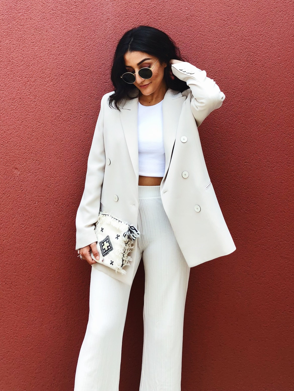 all white sales outfit - Lallasmind
