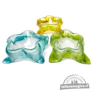 pocillos de vidrio