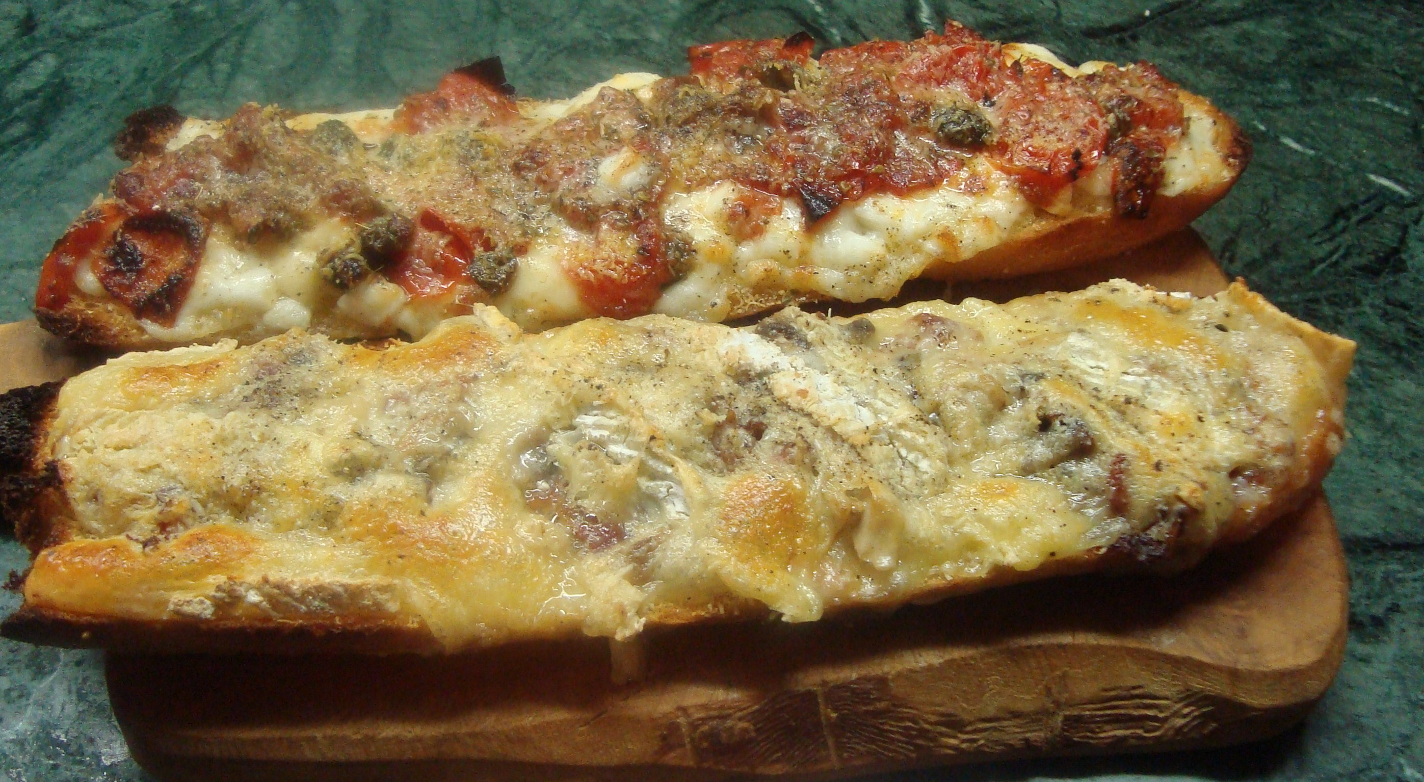 Baguette farcita e gratinata  La cucina di Lalla