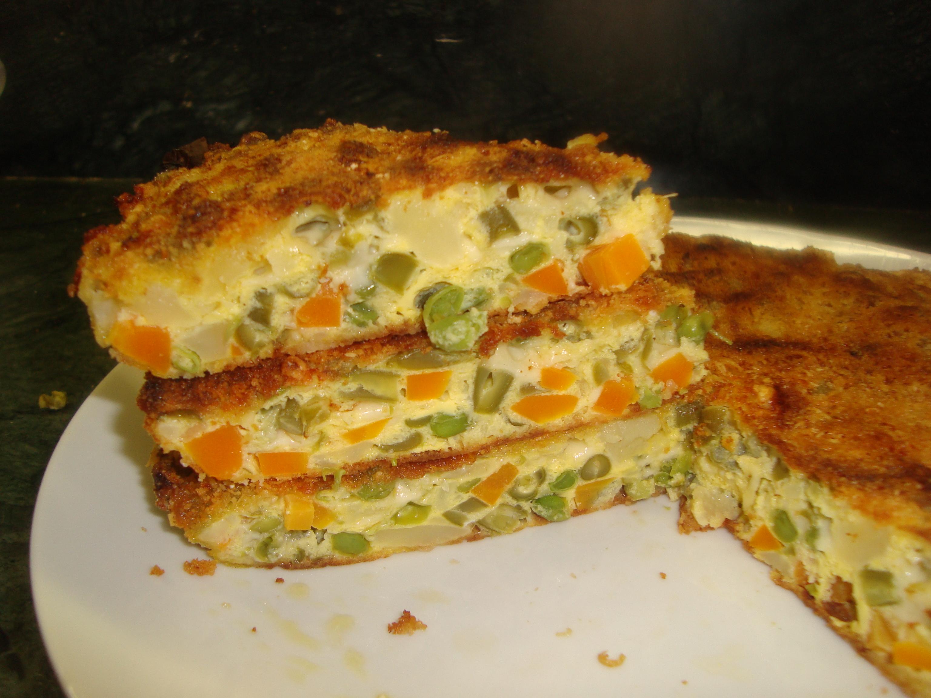 torta di verdure  La cucina di Lalla