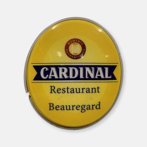 Enseigne lumineuse Cardinal