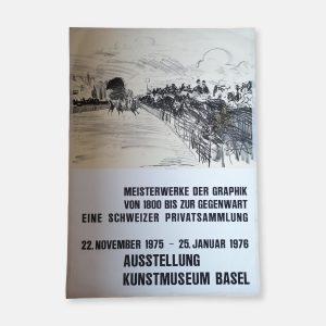 Affiche Kunstmuseum