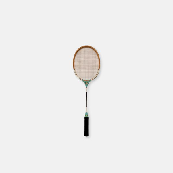Raquette de badminton vintage