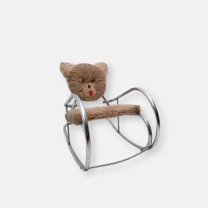 Chaise a bascule vintage pour enfant