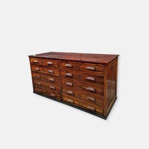 meuble de métier ancien