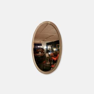 Miroir ovale 70's