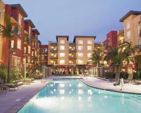 Savoy offers resort-like living in the heart of Downtown L.A. Photo courtesy of Savoy.