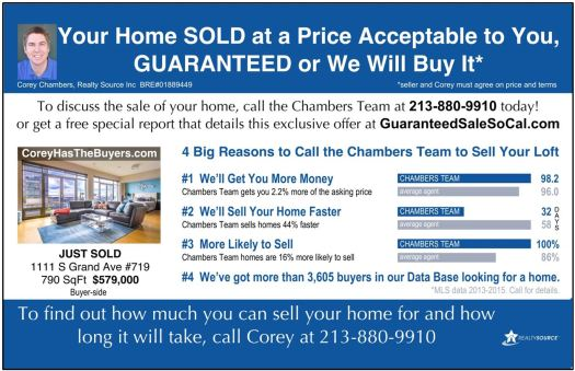 Your Home SOLD at a Price Acceptable to You GUARANTEED or We Will Buy It*