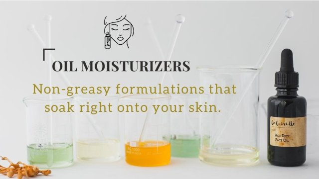 Oil moisturizers