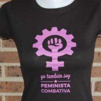 camiseta feminista lakomotora