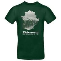 camiseta extremadura 25 marzo