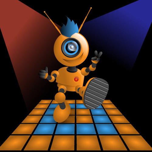 Webcam Bot Dancing