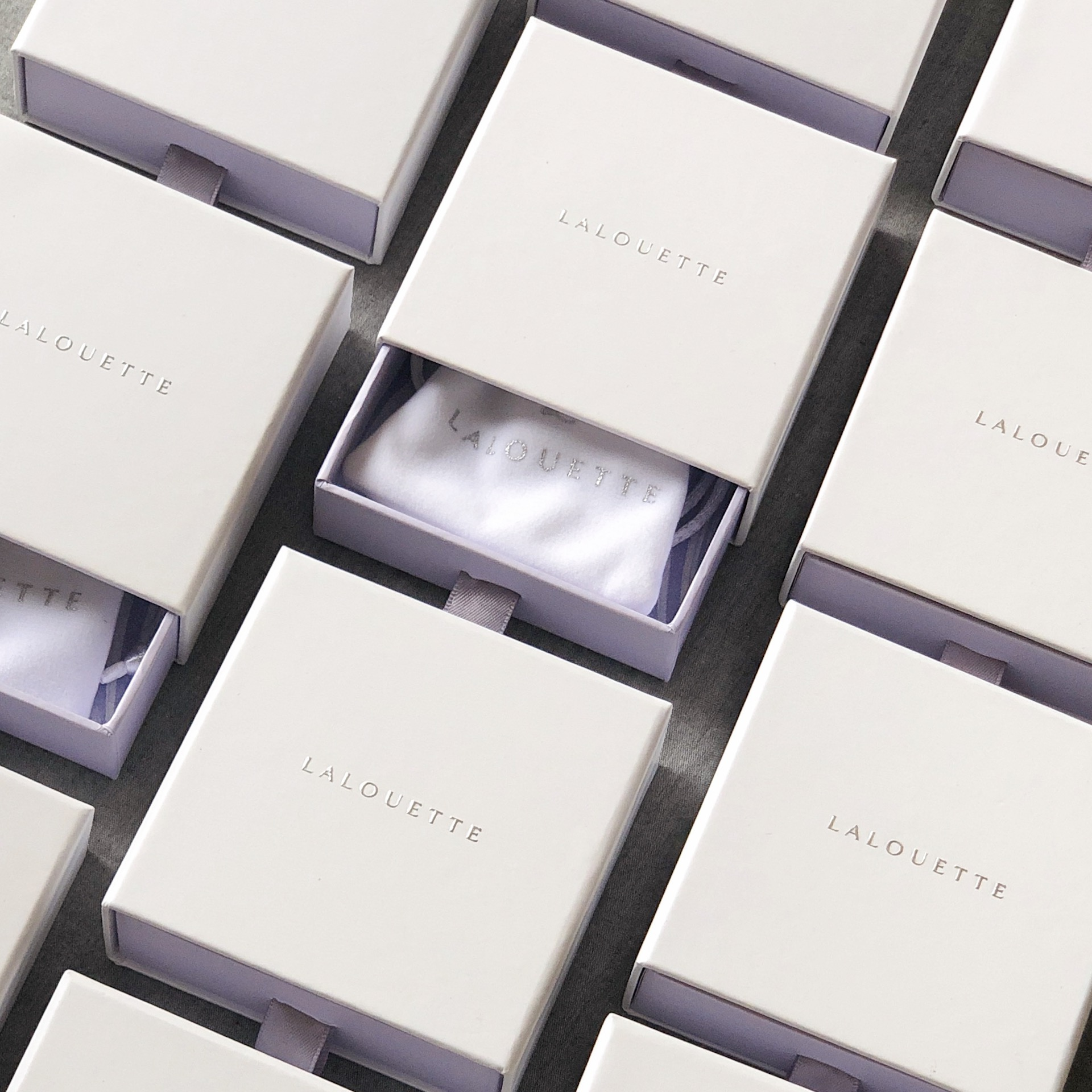 Lalouette Scarf Ring in Packaging