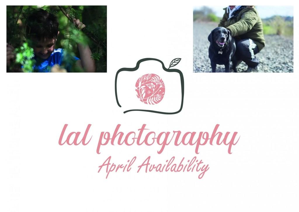 April Availability