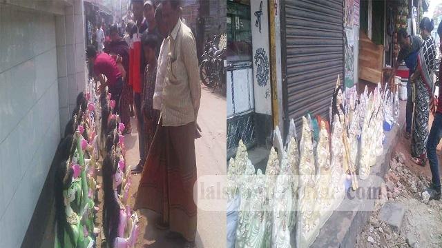 কেশবপুরে সরস্বসতী পূজা উপলক্ষ্যে চলছে প্রতিমা বিক্রি