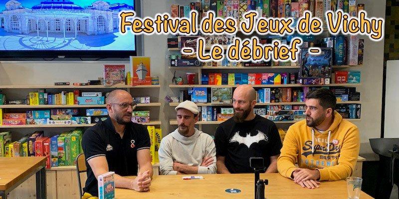 Festival des jeux de Vichy 2021 - le débrief