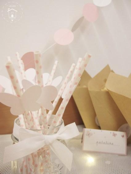 cannucce decorate per festa di compleanno