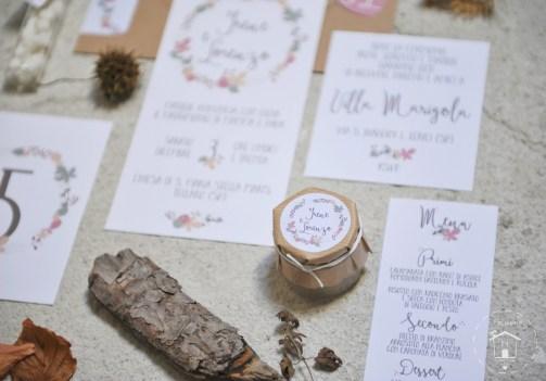etichette adesive stickers e bomboniere Pastiglie Leone di un matrimonio autunnale