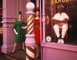 Antonia Simone Barbershop, New York 1961