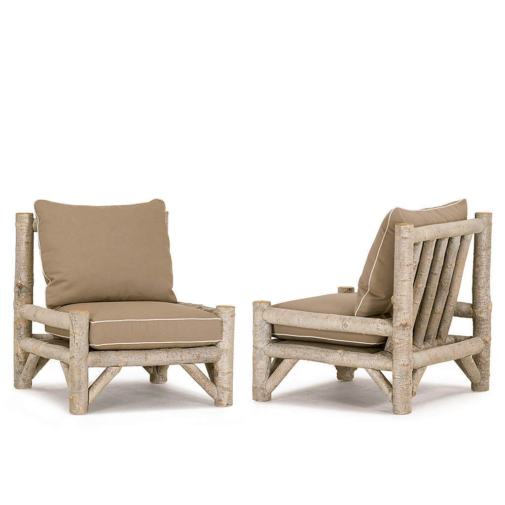 Armless Lounge Chair Rustic Armless Lounge Chair La Lune Collection