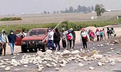 Ica: Obreros bloquean Panamericana en Paro Agrario contra explotación  (Video)