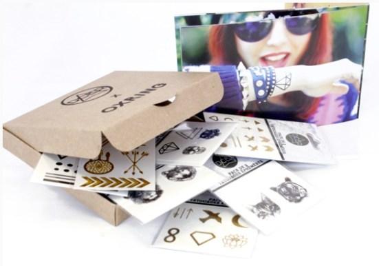 concours oxring lentilles colorées et tatouages temporaires