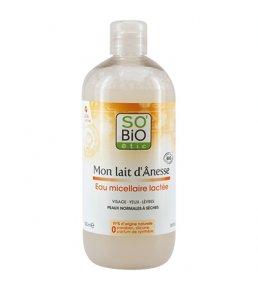 Concours So'Bio Etic eau micellaire lactée Mon Lait d'ânesse