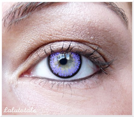 Lentilles de contact colorées violettes Oxring