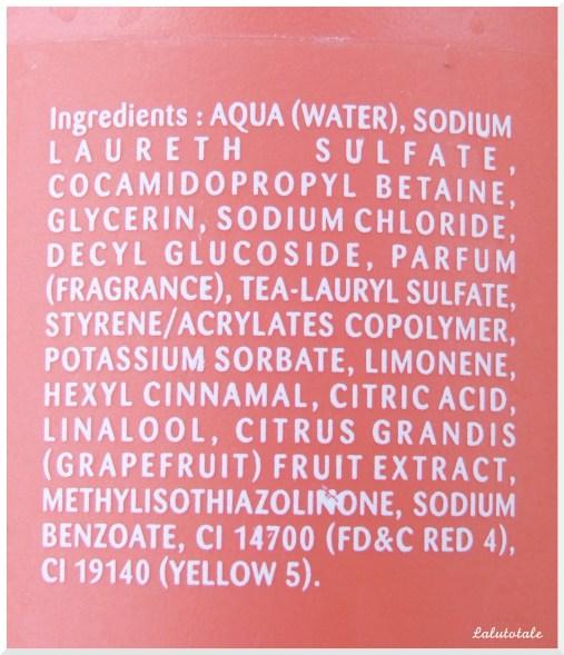 cottage pamplemousse ingrédients