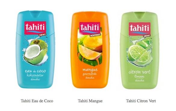 review nouveauté gel douche Tahiti citron vert