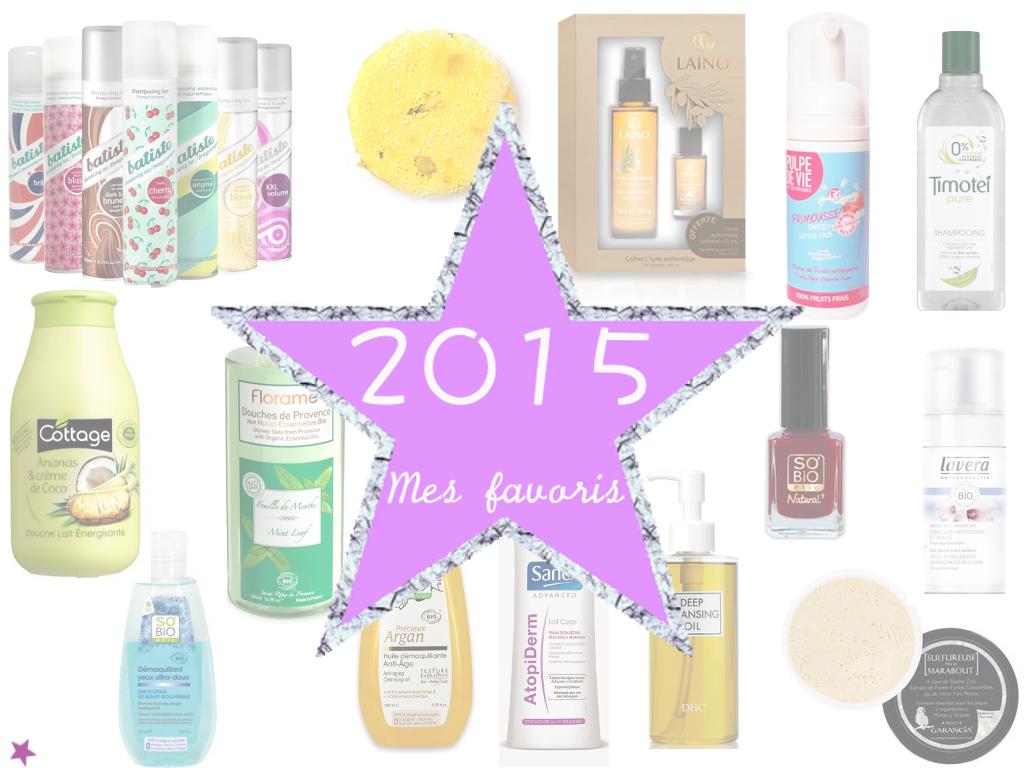 2015 le bilan : mes produits beauté favoris année