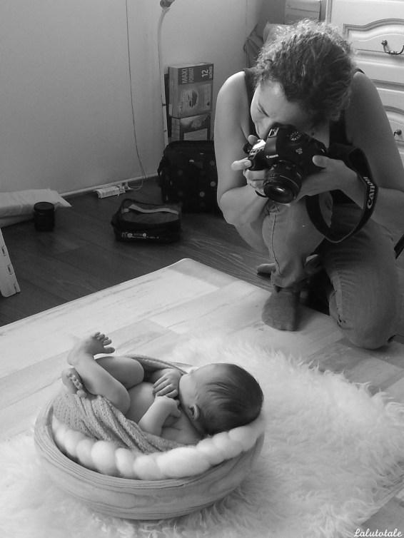 shooting photo photographe bébé nourrisson Essonne professionnel mademoiselle Céline b.