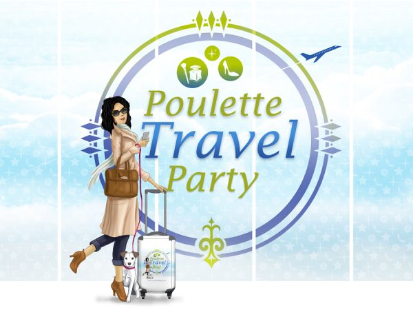 ✈️ Ce billet est à destination de la Poulette Travel Party ✈️