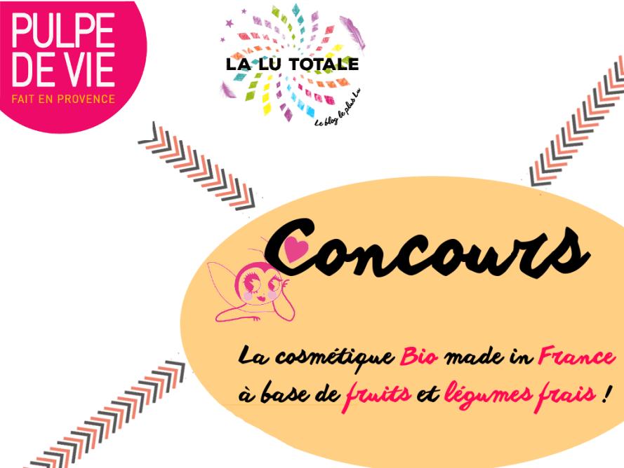 pulpe de vie cosmétique bio naturel Leclerc concours