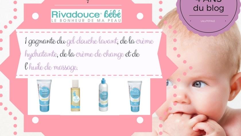 🐣4 ans du blog 🐣  La peau de bébé toute douce avec Rivadouce, toute lisse avec CoCréatrices !