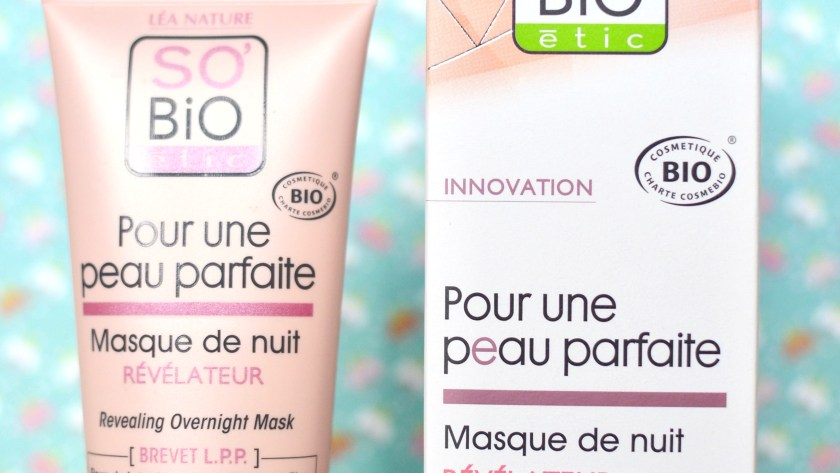 ( SO BIO ETIC ) Une peau parfaite en roupillant, c'est possible ?
