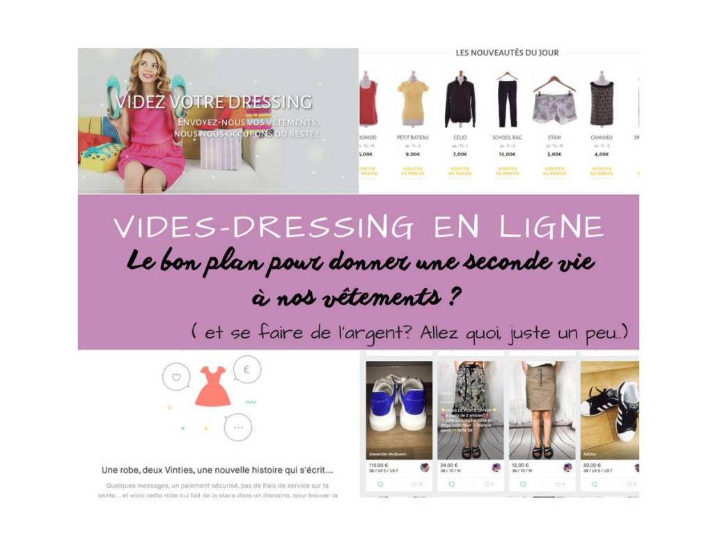 vide-dressing en ligne Vinted Once again vêtements fringues occasion mode