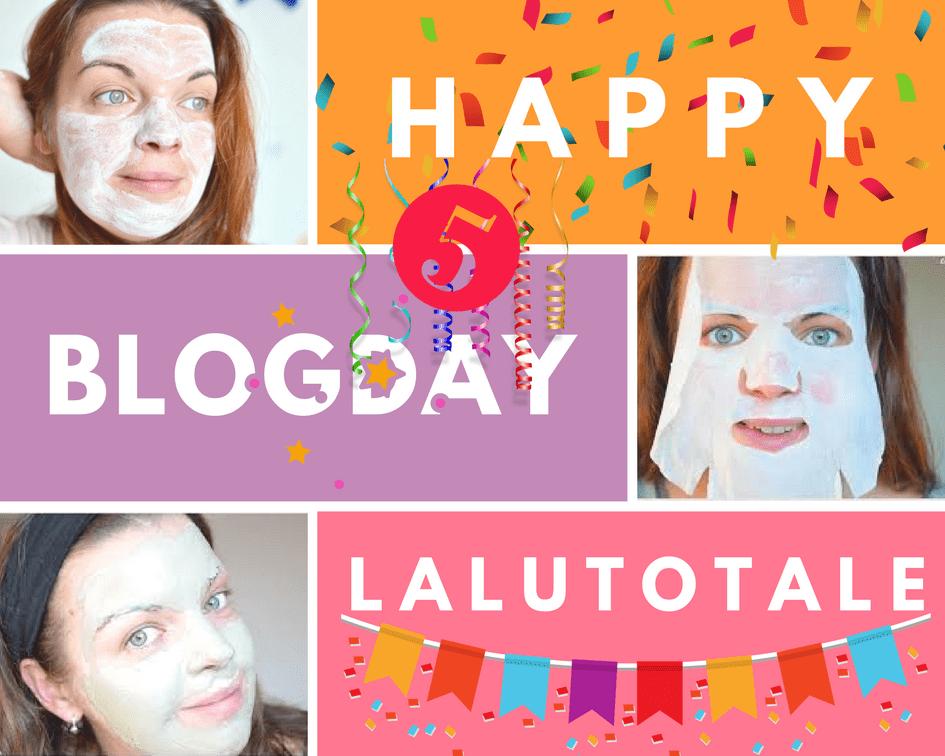 blog anniversaire 5 ans Lalutotale blogversaire concours