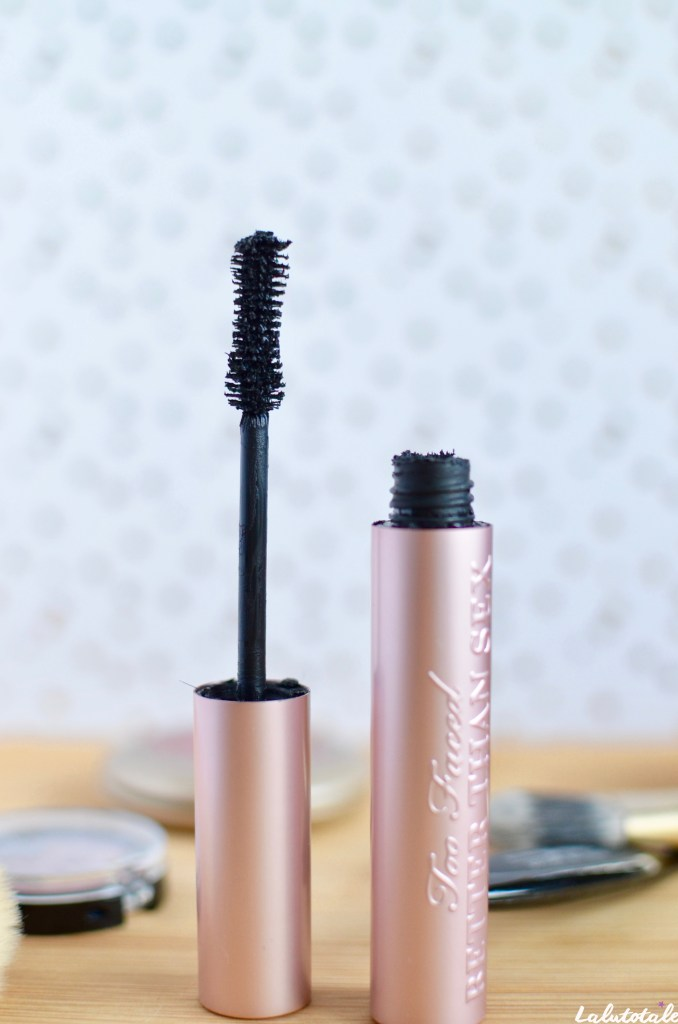 Too Faced mascara Better Than Sex maquillage