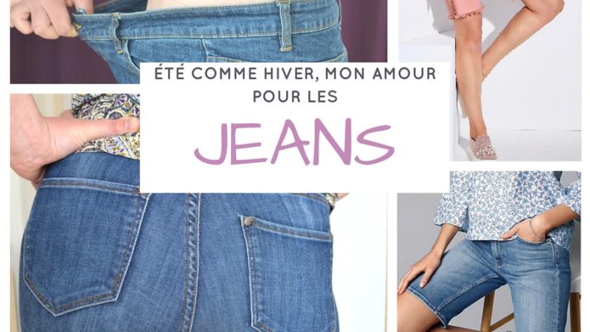 ( MODE ) Mon amour inconditionnel pour les jeans, même en été !