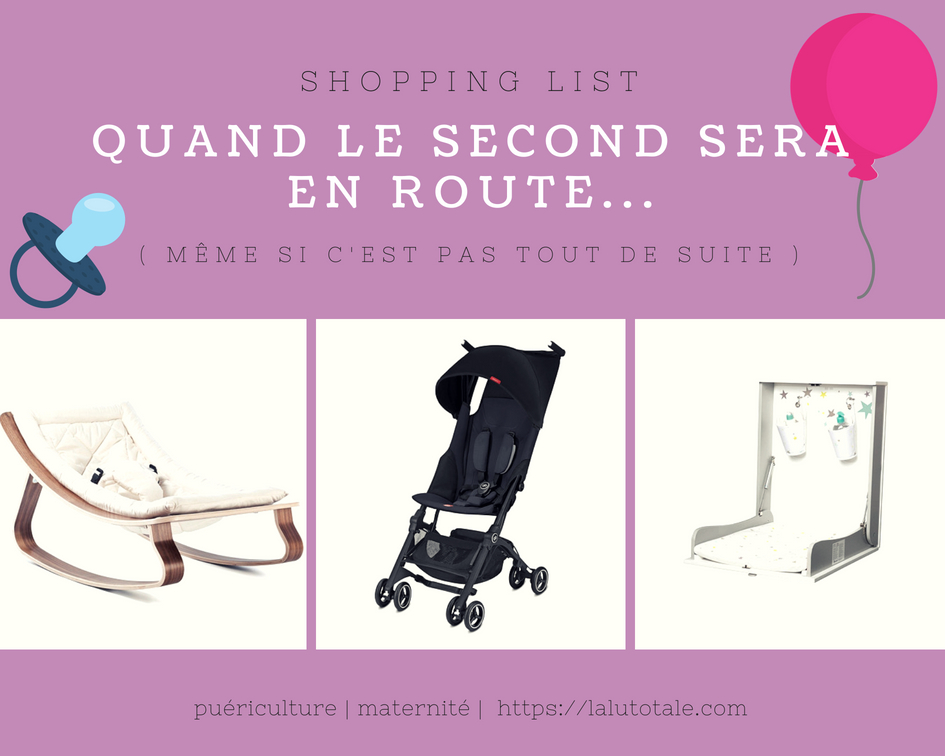 shopping puériculture la redoute indispensables objets wishlit bébé parents