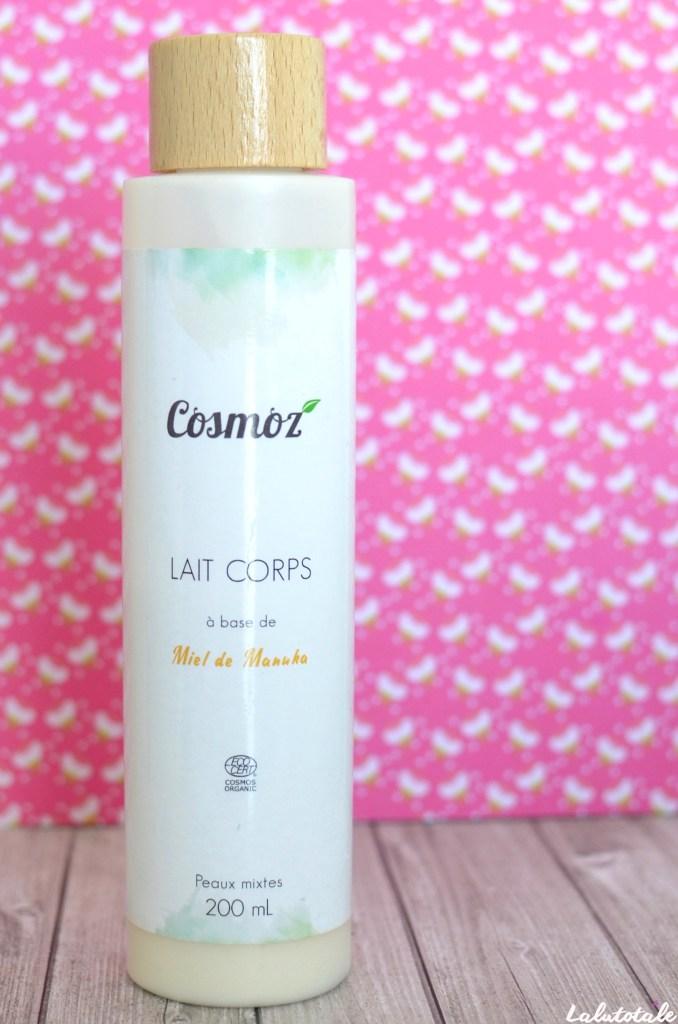 cosmoz manuka miel lait corps hydratant
