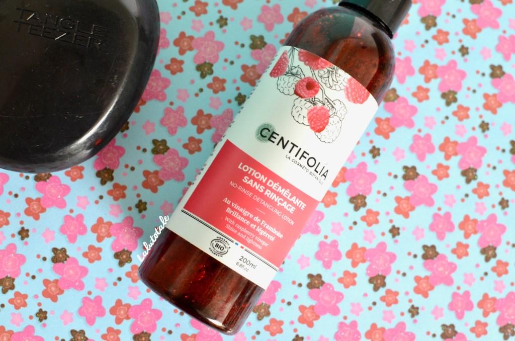 centifolia lotion démêlante cheveux soin capillaire vinaigre framboise