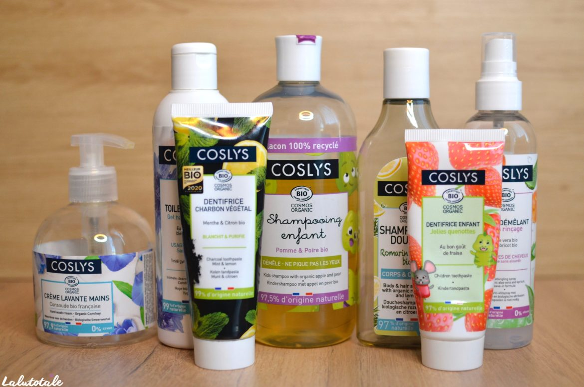 coslys famille review dentifrice shampooing enfants adultes