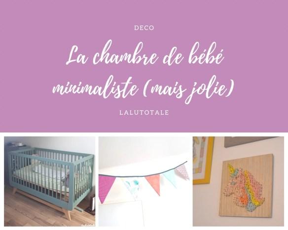 déco chambre bébé minimaliste