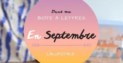 Haul les coeurs en Septembre 2021 ! Boîte à lettres et résumé du mois 📬 .